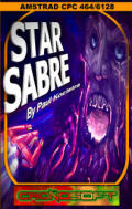 Star Sabre Amstrad CPC Front Cover