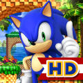 Sonic the Hedgehog 4: Episode I iPad Front Cover