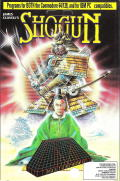 James Clavell's Shogun Commodore 64 Front Cover