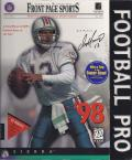 Front Page Sports: Football Pro '98 Windows Front Cover