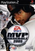MVP Baseball 2005 PlayStation 2 Front Cover