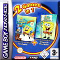 2 Games in 1: SpongeBob SquarePants - Battle for Bikini Bottom + SpongeBob SquarePants - Supersponge Game Boy Advance Front Cover