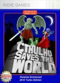 Cthulhu Saves the World Xbox 360 Front Cover 1st version