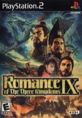 Romance of the Three Kingdoms IX PlayStation 2 Front Cover