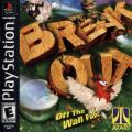 Breakout PlayStation Front Cover