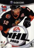 NHL 2003 GameCube Front Cover