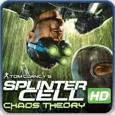 Tom Clancy's Splinter Cell: Chaos Theory PlayStation 3 Front Cover
