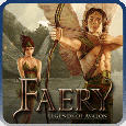 Faery: Legends of Avalon PlayStation 3 Front Cover PSN version