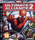 Marvel Ultimate Alliance 2 PlayStation 3 Front Cover