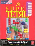 Super Tetris Windows 3.x Front Cover