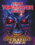 The Terminator 2029: Operation Scour DOS Front Cover