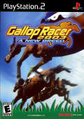 Gallop Racer 2003: A New Breed PlayStation 2 Front Cover