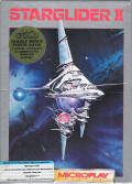 Starglider II DOS Front Cover