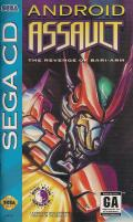 Android Assault: The Revenge of Bari-Arm SEGA CD Front Cover