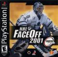 NHL FaceOff 2001 PlayStation Front Cover