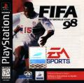 FIFA 98: Road to World Cup PlayStation Front Cover