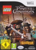LEGO Pirates of the Caribbean: The Video Game Wii Front Cover