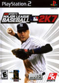 Major League Baseball 2K7 PlayStation 2 Front Cover