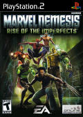 Marvel Nemesis: Rise of the Imperfects PlayStation 2 Front Cover