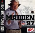 Madden NFL 97 PlayStation Front Cover