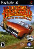 The Dukes of Hazzard: Return of the General Lee PlayStation 2 Front Cover