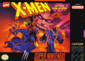 X-Men: Mutant Apocalypse SNES Front Cover