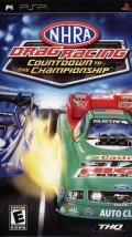NHRA Drag Racing: Countdown to the Championship PSP Front Cover