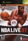 NBA Live 07 Xbox Front Cover