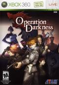 Operation Darkness Xbox 360 Front Cover
