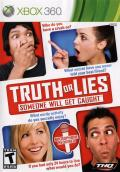 Truth or Lies Xbox 360 Front Cover
