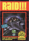 Raid Over Moscow Amstrad CPC Front Cover