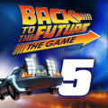 Back to the Future: The Game - Episode 5: OUTATIME iPad Front Cover