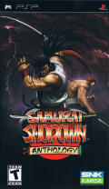 Samurai Shodown: Anthology PSP Front Cover