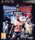 WWE Smackdown vs. Raw 2011 PlayStation 3 Front Cover