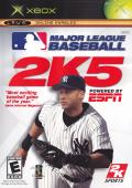 Major League Baseball 2K5 Xbox Front Cover