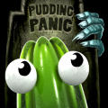 The Great Jitters: Pudding Panic iPhone Front Cover