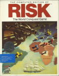 The Computer Edition of Risk: The World Conquest Game DOS Front Cover