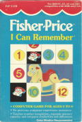 Fisher-Price I Can Remember DOS Front Cover