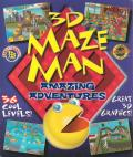 3D Maze Man: Amazing Adventures Windows Front Cover