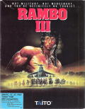 Rambo III DOS Front Cover
