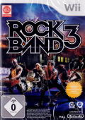 Rock Band 3 Wii Front Cover