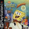 SpongeBob SquarePants: SuperSponge PlayStation Front Cover