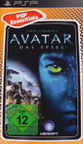 James Cameron's Avatar: The Game PSP Front Cover