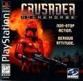 Crusader: No Remorse PlayStation Front Cover