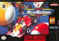 Micro Machines SNES Front Cover