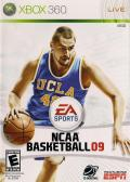 NCAA Basketball 09 Xbox 360 Front Cover