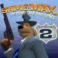 Sam & Max Episode 202: Moai Better Blues iPad Front Cover