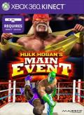 Hulk Hogan's Main Event Xbox 360 Front Cover