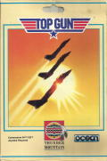 Top Gun Commodore 64 Front Cover