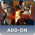 Resident Evil 5: Desperate Escape PlayStation 3 Front Cover PSN version